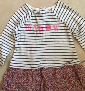 Продам платье на девочки Next 80(86)