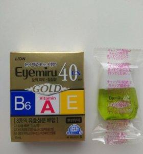 Глазные капли LION Smile 40 EX GOLD из Японии