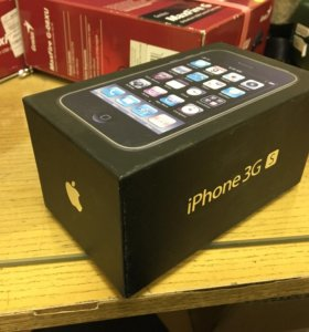 Коробка от iphone 3gs, c бумажками