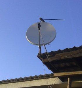 Антенна спутниковая-тарелка