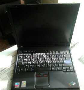 Ноутбук IBM t41