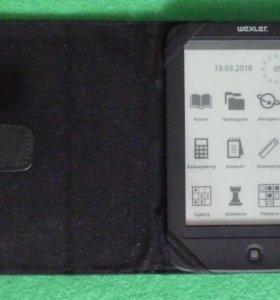 Книга электронные чернила eink Wexler E6005 сенсор