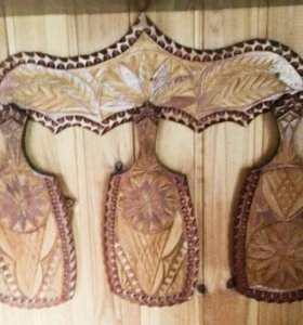 Набор деревянных досок