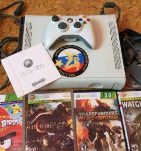 Прошитый Xbox 360+Игры