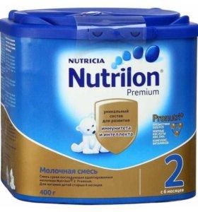 Детская смесь nutrilon 2