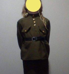 Военная форма для девочки(аренда)