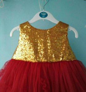 Прокат платья от 1-3 лет