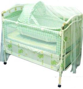 Продам детскую кроватку трансформер(возможен торг)