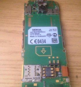 Плата Nokia rm-745 с экраном и клавиатурой