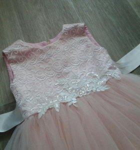 Прокат платья от 3-7 лет