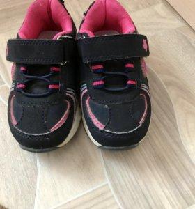 Детские кроссовочки на девочку ссветящиеся