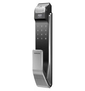 Электронный замок Samsung SHS-P718 XBK черный
