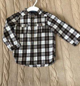 Рубашка новая HM 86-92