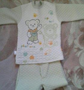 Теплое нательное белье для мальчика 6-7 лет