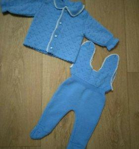 Детский костюм на новорожденного