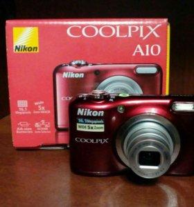 Компактная камераNikon Coolpix A10