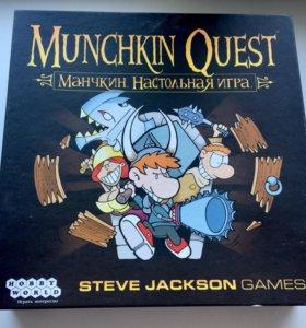 Настольная игра «манчкин квест» / «munchkin quest»