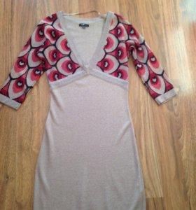 Платье новое с люрексом на 44-46 размер
