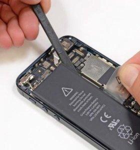 Дисплей и аккумулятор на iphone