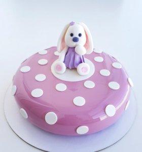 Муссовый торт ми-ми-ми