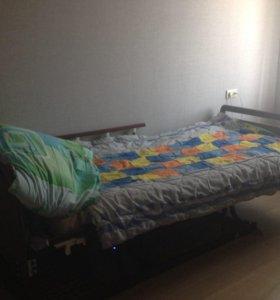 Кровать-кресло с туалетом и возможностью подъёма