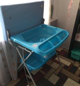 Ванночка + пеленальник
