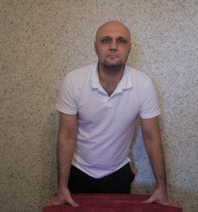 Мастер массажа с выездом на дом + тейпирование