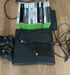 Xbox 360 250 gb с играми