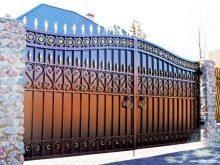 Кованые ворота 7,1,ковка.
