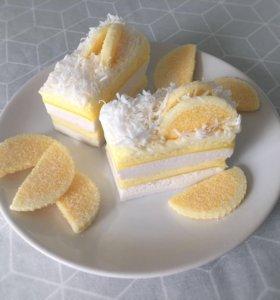 Мыло «Лимонное пирожное»