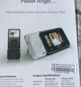 Внешний аккумулятор для IPod и IPhone 4