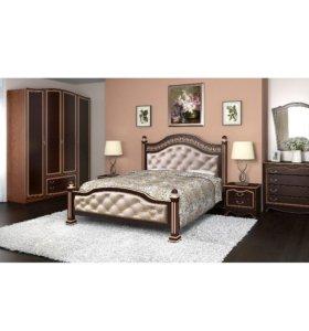 Шкаф темный орех (спальный гарнитур Клеопатра)