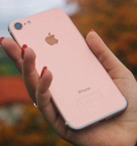 Продам айфон 7 , розового цвета