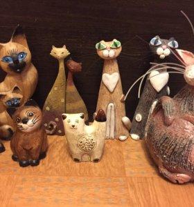 Кошки коллекционные