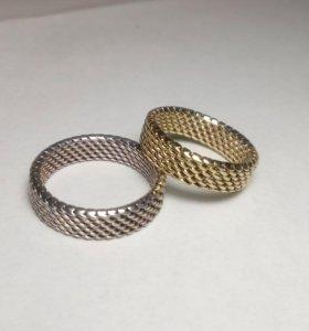 Плетёные кольца.