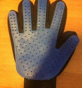 Расческа перчаток для животных