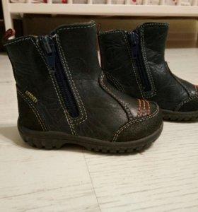 Ботиночки Котофей литые (непромокаемые) почти НОВ.
