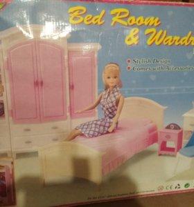 Спальня для барби