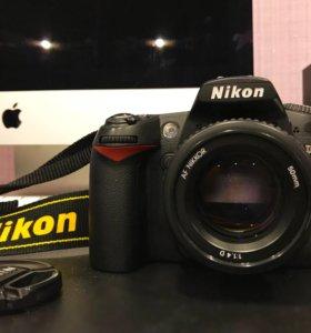 Nikon d90 + объектив Nikkor 50mm F/1.4D