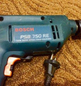 Bosh PSB 750 RE