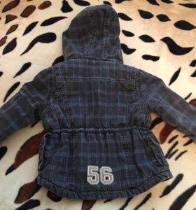Курточка на мальчика демисезон