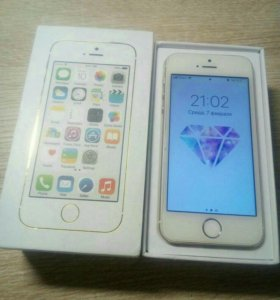 Iphon 5s 16g gold
