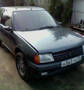 Peugeot 205, 1986