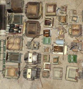 продам трансформаторы,тиристоры,моталку.