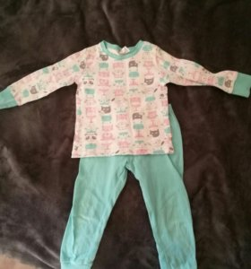 Пижама Сrockid для девочки на рост 104