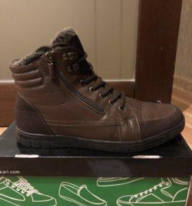 Ботинки кожаные 42