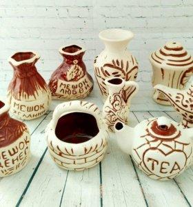 Керамические фигурки для творчества
