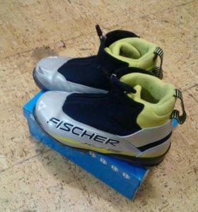 Лыжный комплект: лыжи и ботинки