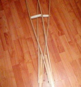 Костыли (деревянные)
