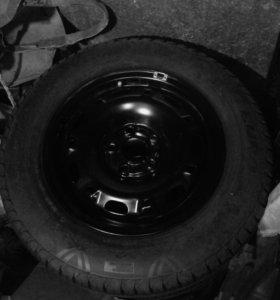 Колеса шины диски на Фольксваген, Шкода